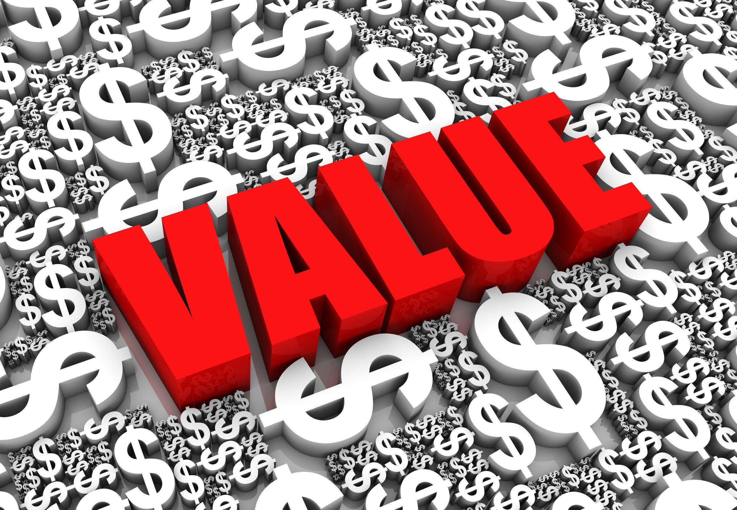 Bringing Back Value
