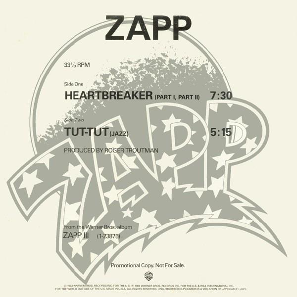 Zapp – Heartbreaker (Part I, Part II)   Genre: Electronic, Funk / Soul  Style: Funk  Year: 1983