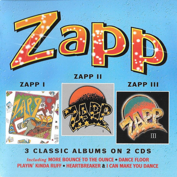 Zapp ‎– Zapp I / Zapp II / Zapp III   Label: Robinsongs ‎– WROBIN10CDD  Format: 2 × CD, Album, Compilation, Reissue, Remastered  Country: UK  Released: 2016  Genre: Funk / Soul