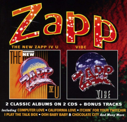 Zapp ‎– The New Zapp IV U / Vibe   Label: Robinsongs ‎– WROBIN35CDD  Format: 2 × CD, Compilation  Country: UK  Released: 09 Nov 2018  Genre: Electronic, Funk / Soul  Style: Electro, Funk, P.Funk