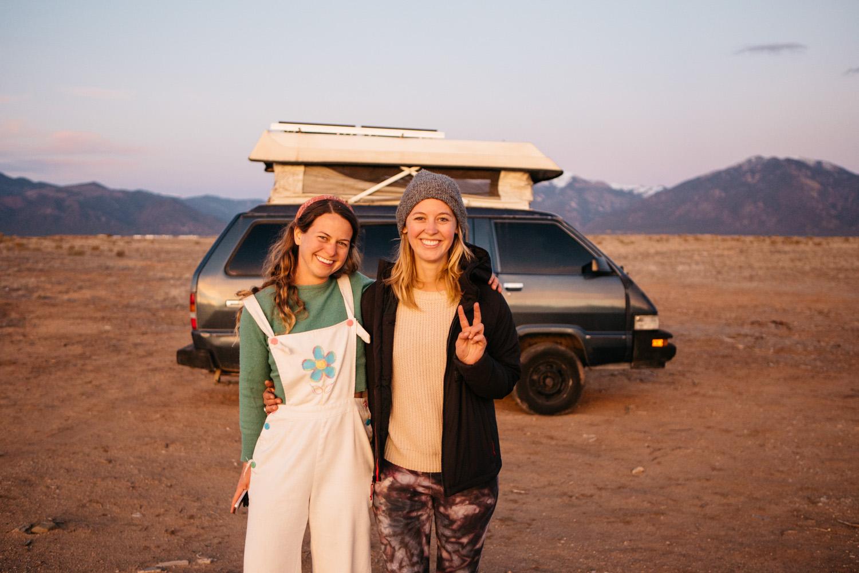 Kit Whistler and Kathleen Morton — photo by Gale Straub