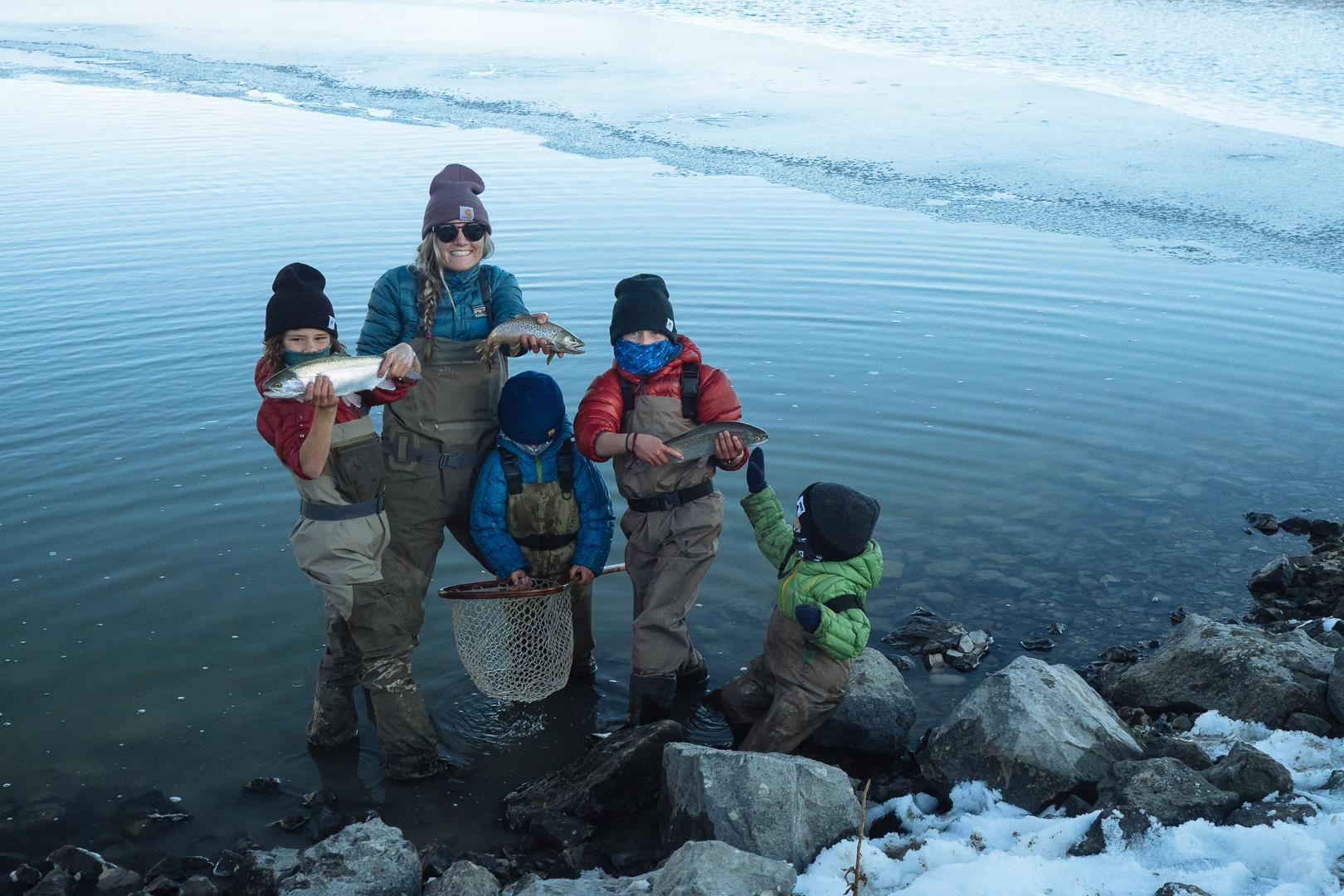 Fishing time for the Leavitt family