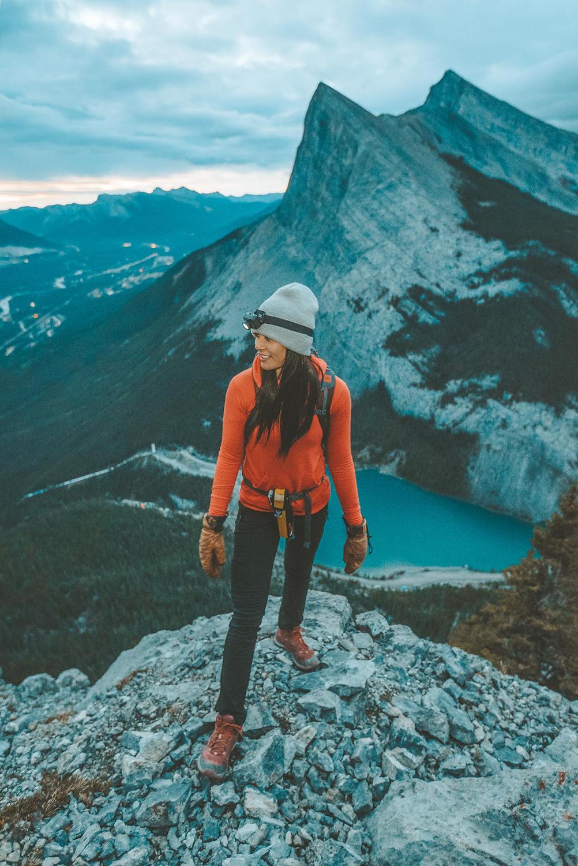 Kieren at a trail vista — photo by Peter O'Hara