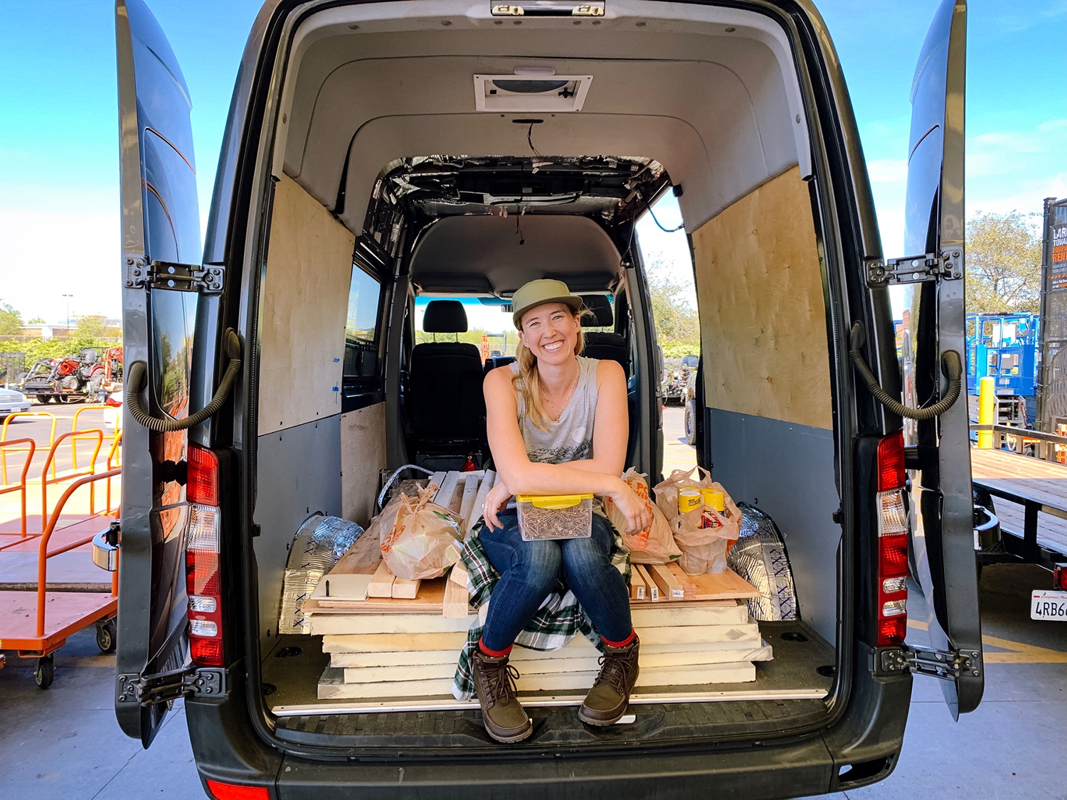Megan Cable continues her dreams of road travel after leaving the first van she traveled in