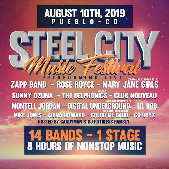 Pueblo, Colorado We Are Coming Back!!! August 10th, 2019 For The BIGGEST Concert In  The State Of Colorado. WE Can't Wait To See U There!!!! GET YOUR TICKETS NOW!!!!