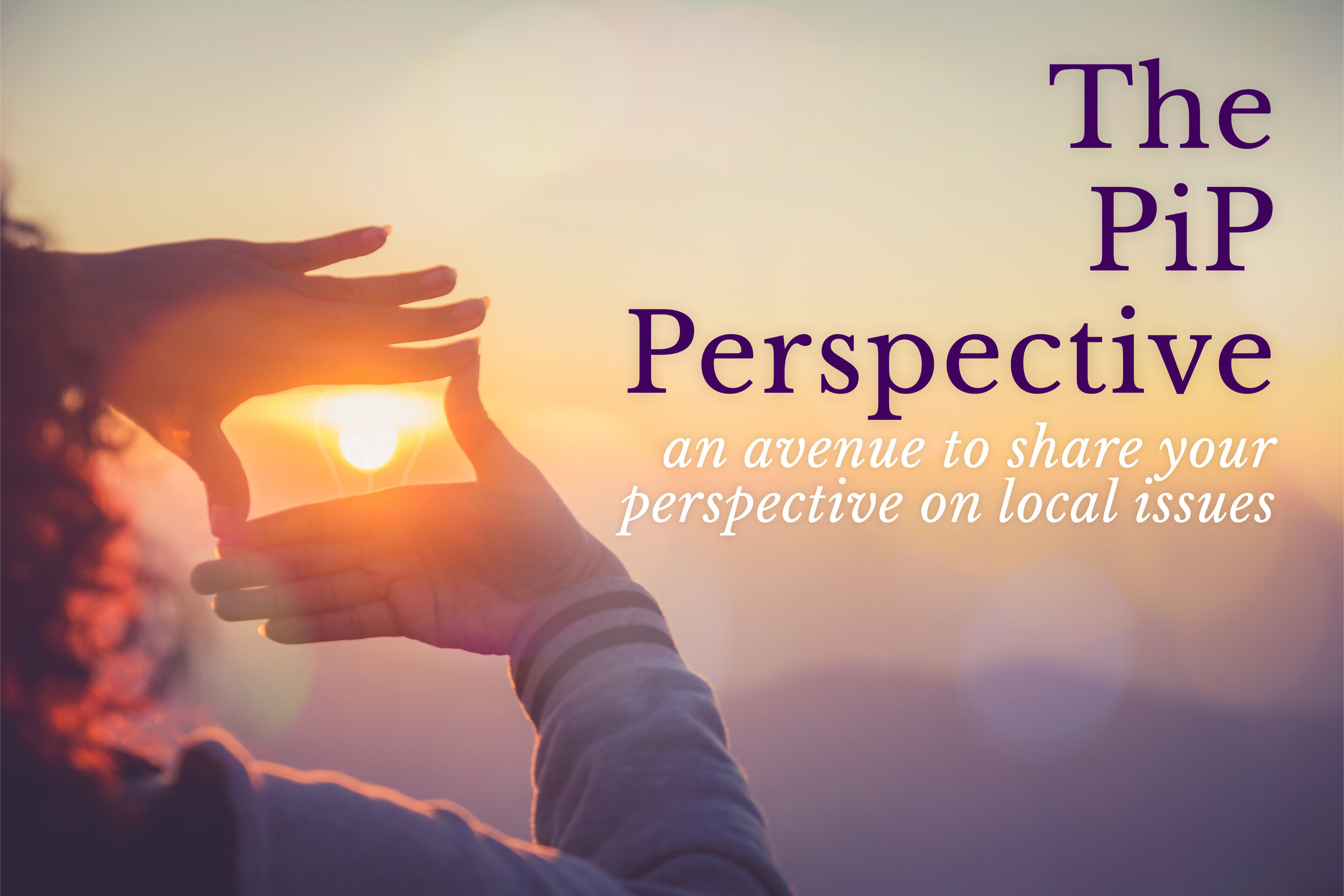 In keeping with the mission of The PiP we have created The PiP Perspective as an avenue for you to share your thoughts and opinions on local issues.  The PiP reserves the right to publish these perspectives at our discretion.  Please limit to 500 words or less.