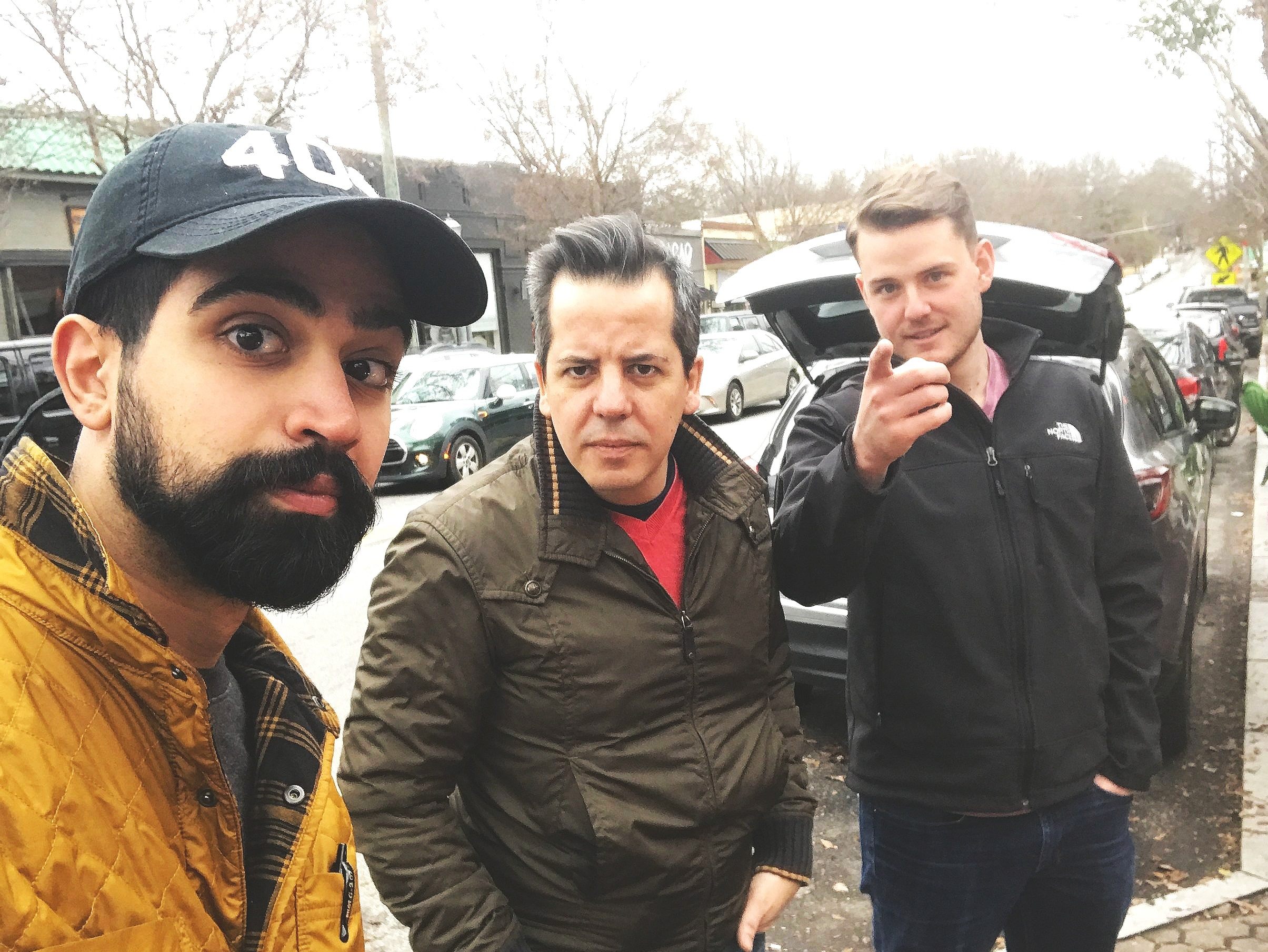 Parsa, Diego, and Nick at Beautify VaHi in Virginia Highlands