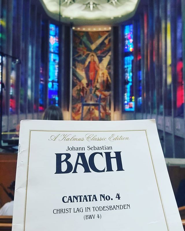 I've been back in CT for Holy Week with the Schola Cantorum at the Cathedral of St. Joseph in Hartford.  Excited to perform Bach's Cantata No. 4 with the choir and as the bass soloist.  If you're in the area, the concert is tomorrow at 9 AM!  https://www.hartfordcathedral.org/news--events.html