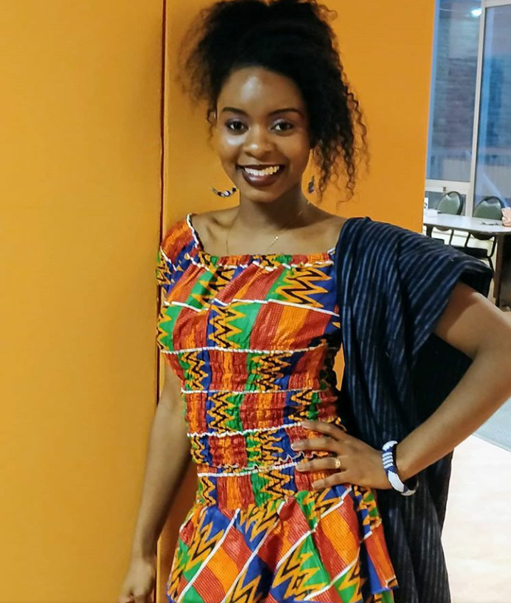 """Habiba is 23 years old. She was born and raised in Canada. Her late father was born in Guinea and raised in Liberia. Her mother is Jamaican. She lost her father in 2010, while attending high school. She """"didn't know what to make of it. It was unexpected."""" Faith helped her get through it."""