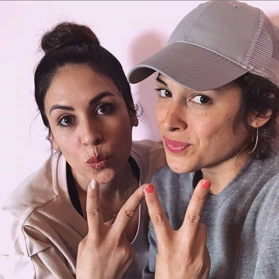 """Sisters @gogogabriela and @__sam_scorpio__ founded @hiplineoakland eleven years ago.  In their studio on lakeshore Ave, they hold space and invite every body to """"go where the people dance""""  Did you listen to their episode? What was your take away?"""