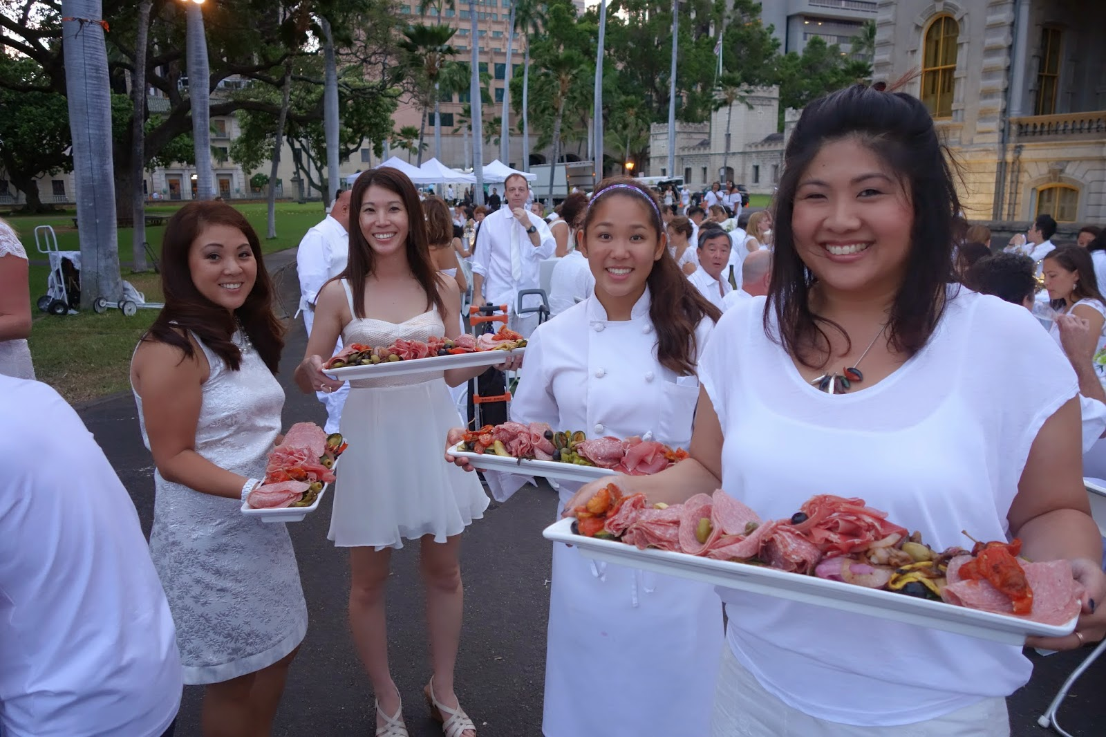 Delicious cold cuts by Chef Shoji Namatame of BLT Steak.