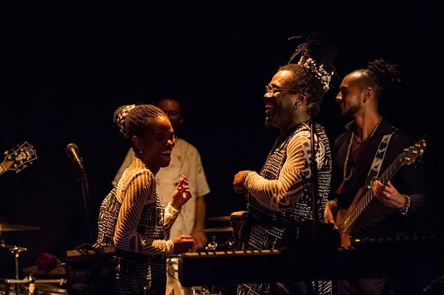 Beautiful night in Lutry! Photo by the amazing @cyrilleroyphotography // Clothes design by @romzyboutique Thank you so much for coming and sharing the vibe with us. We love you so much! . . #album #promotion #africa #switzerland #africantime #gwentiana #jazz #afrojazz #soul #talentedmusicians #gabon #cameroon #mauritania #out #passion #musicentrepreneur #artist #singer #musicianlife #vocal #duo #madagascar #love #photoftheday #beautiful #happy #release