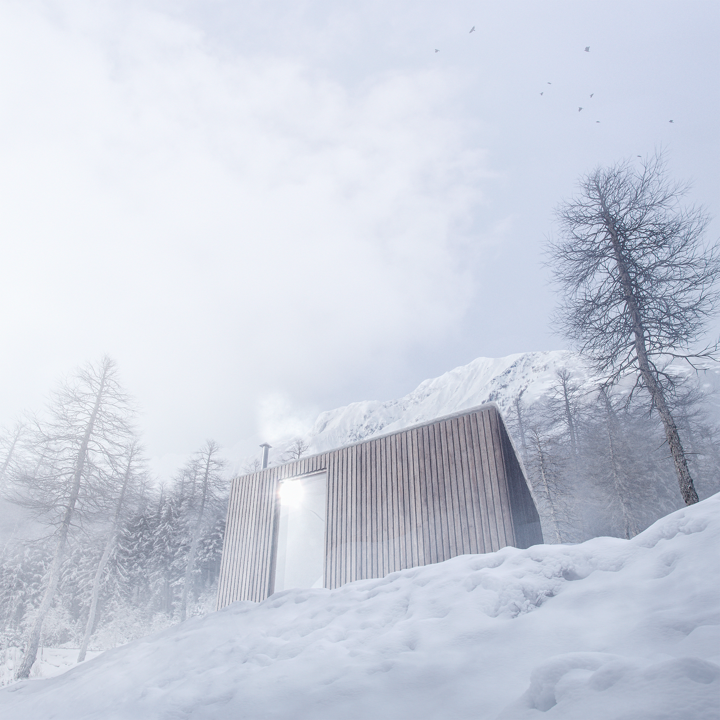 Winter Cabin II