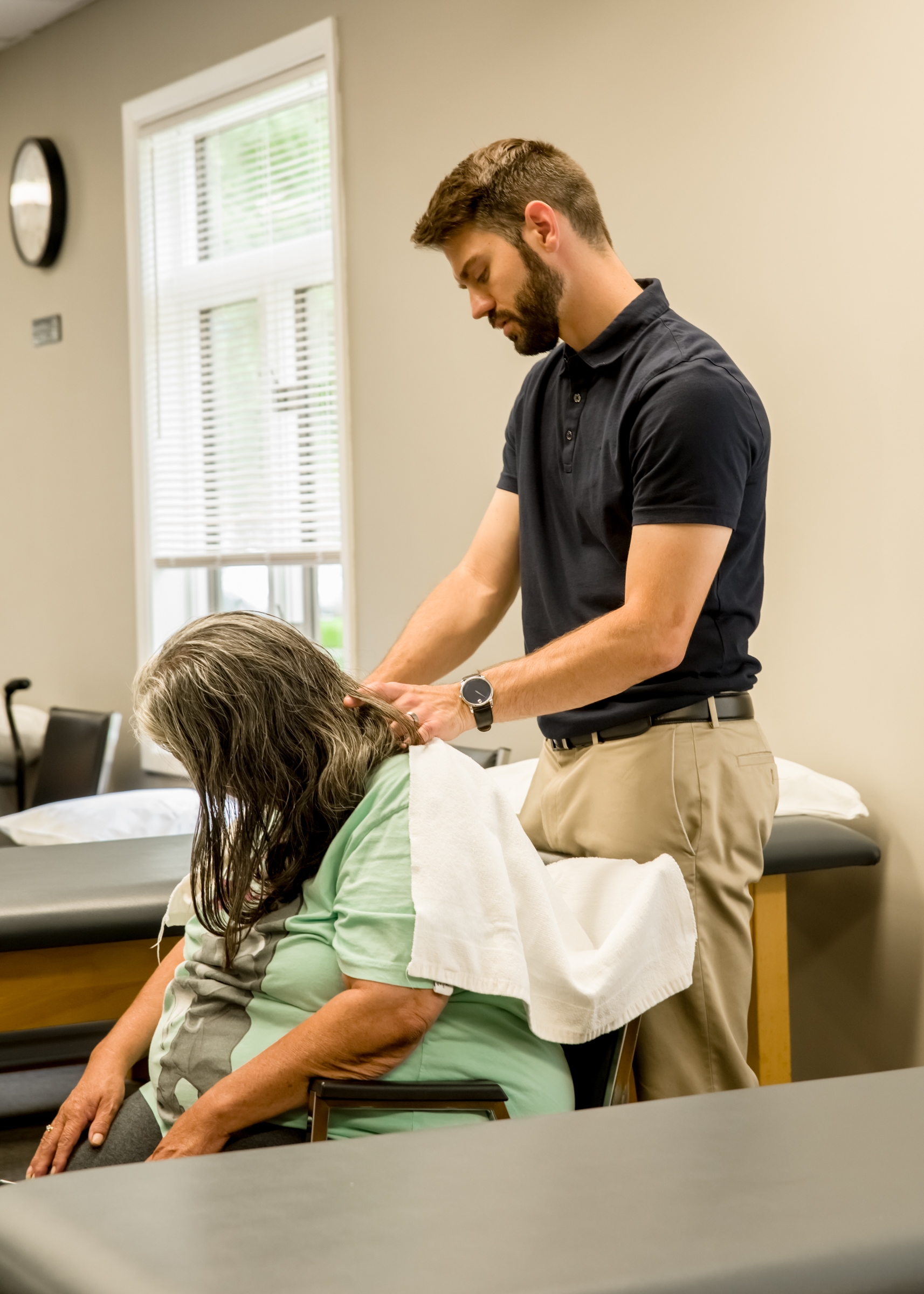 Prompt, exceptional care - Our therapists take the time to understand your specific needs through a 45 minute to 1 hour evaluation. We are well known for our compassion, friendly atmosphere, and outstanding patient care. At Lattimore, you are not just a number. We are dedicated to improving your quality of life.