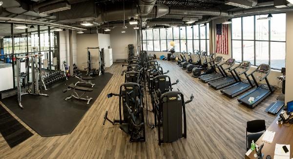 Lattimore Workout Center with fitness equipment and treadmills