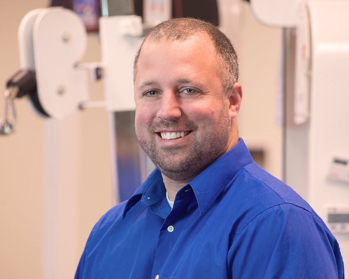 Lattimore Physical Therapist, Clinical Director and Co Owner Adam Frank