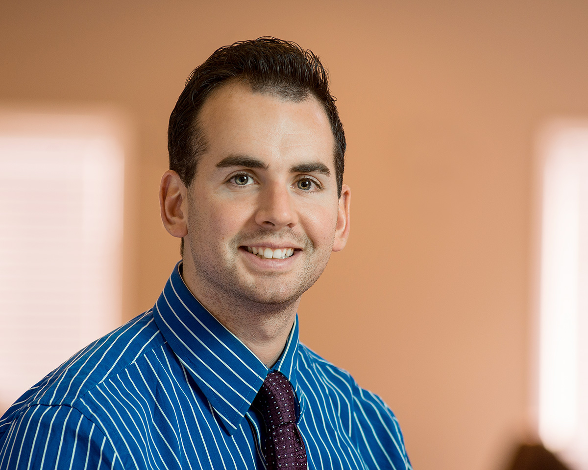 Lattimore Physical Therapist and Clinical Director Justin McEvoy