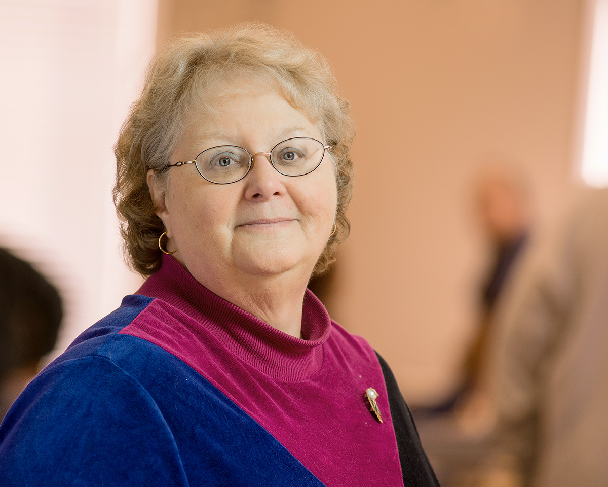 Lattimore Administrative Assistant Margie McKnight