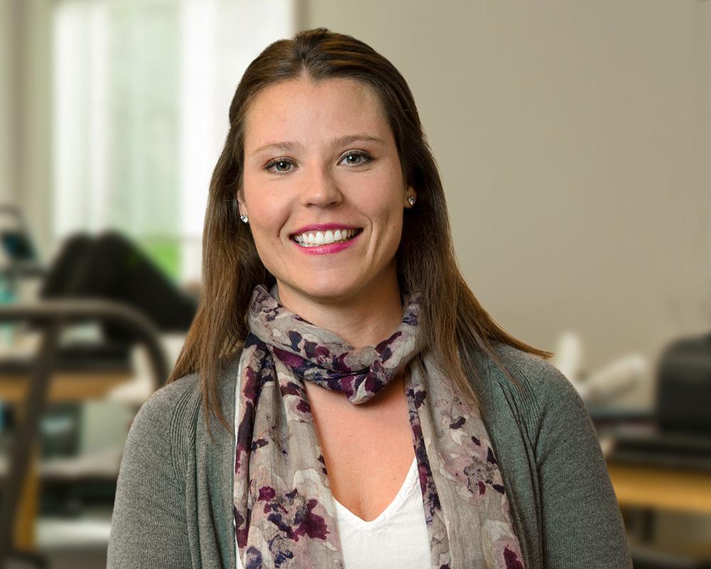 Lattimore Administrative Assistant Michelle Webb