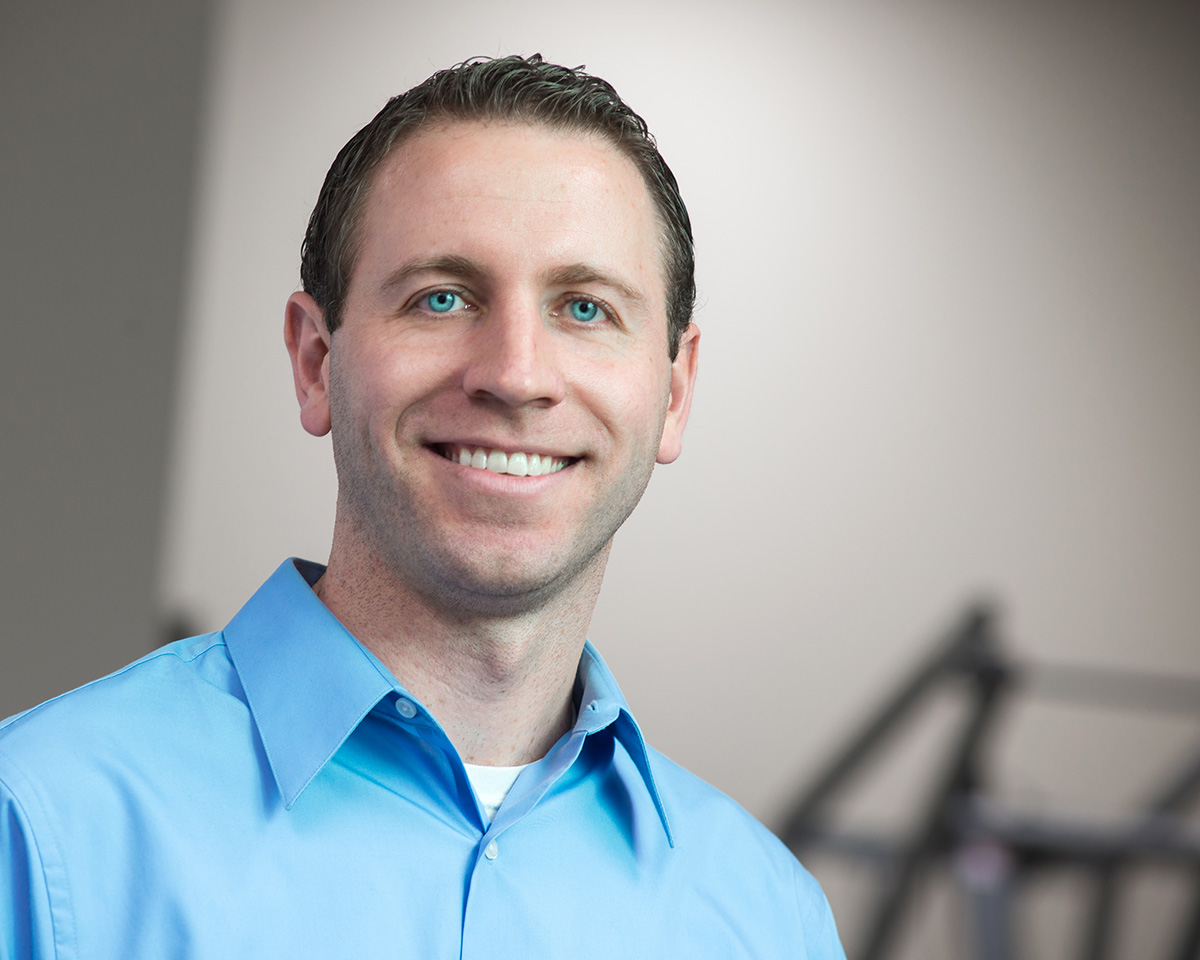 Lattimore Physical Therapist, co owner and clinical director Matt Stoutenburg