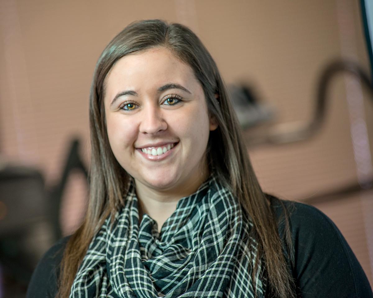 Lattimore Administrative Assistant Kristi McClure