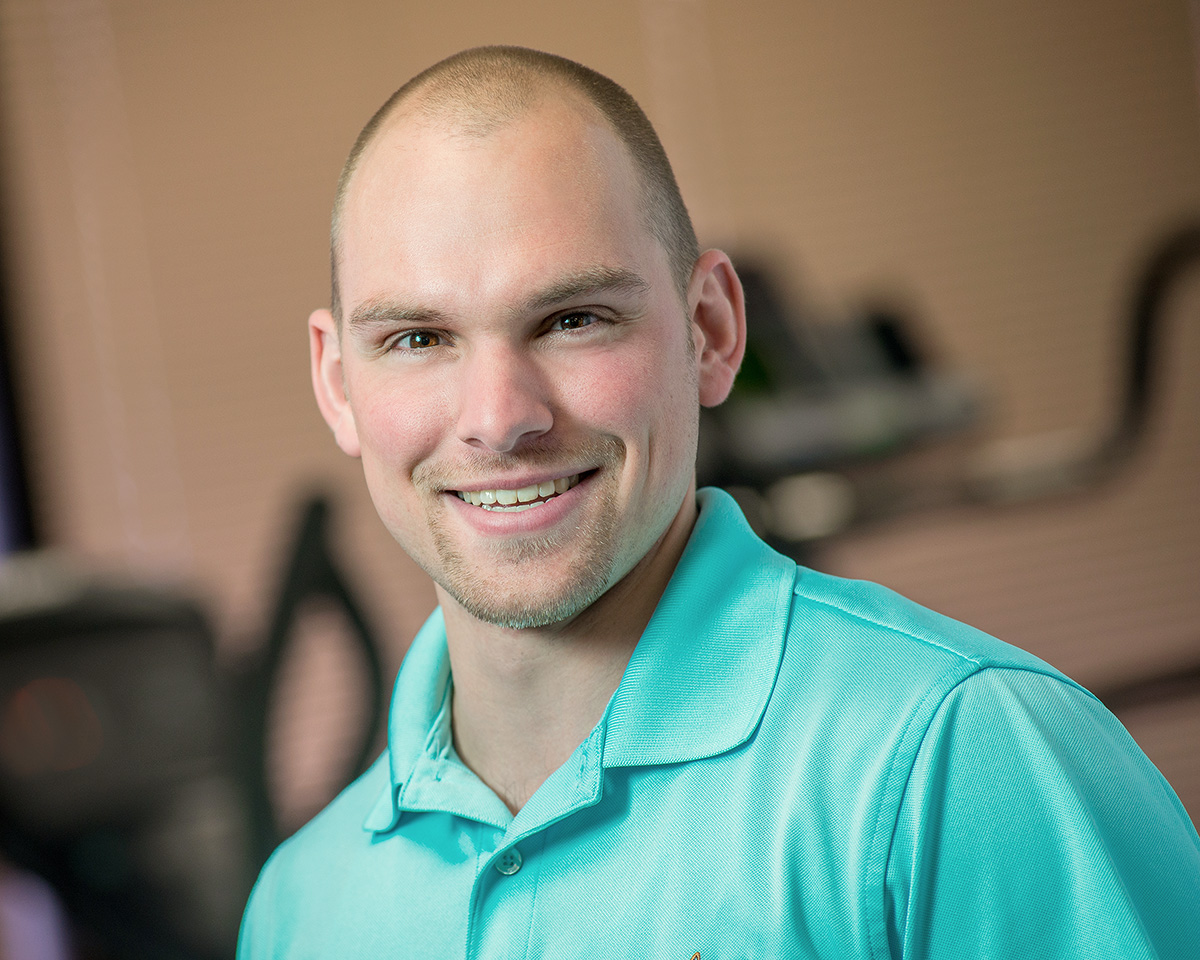 Lattimore Physical Therapist Assistant and Fitness Director Rob Tanner