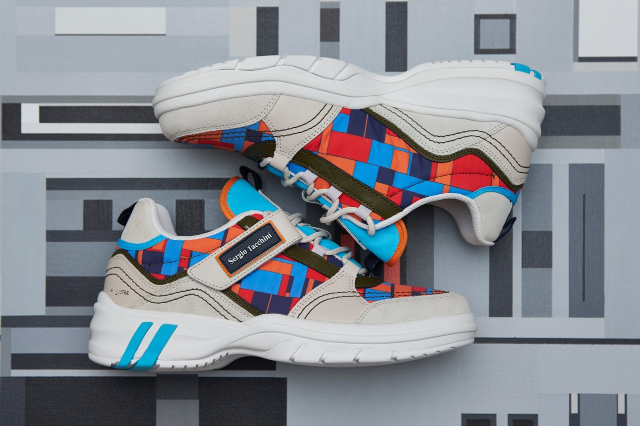 Adam Lister & Sergio Tacchini Unveil Limited Edition POWER Sneaker - HYPEBEAST