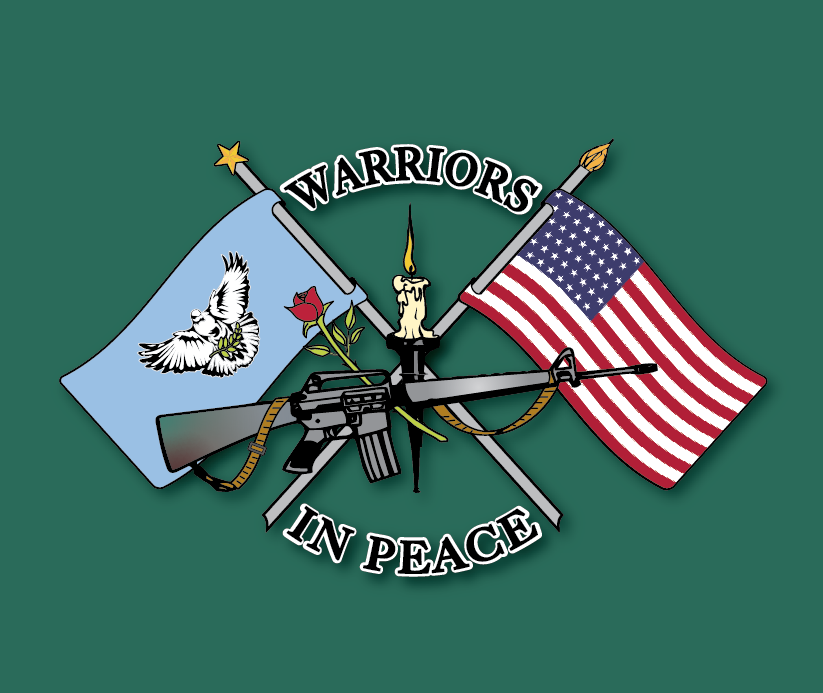 Warrior In Peace Logo Boat Green.png