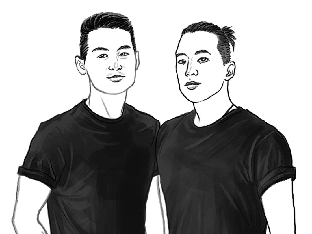 L - Edward Gunawan, R - Elbert Lim