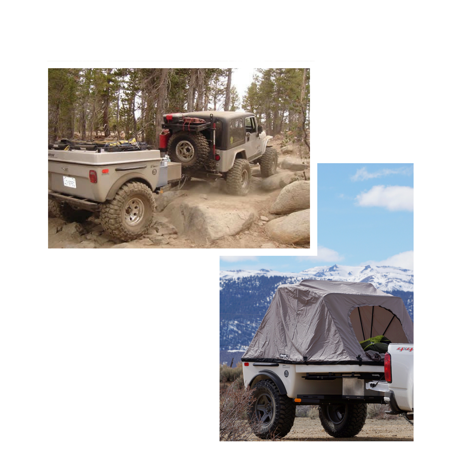 Tentrax Jeep Camper Trailer Hiking Trailer Cargo Trailer Off Road Utility Trailer Overland Adventure Trailer.png