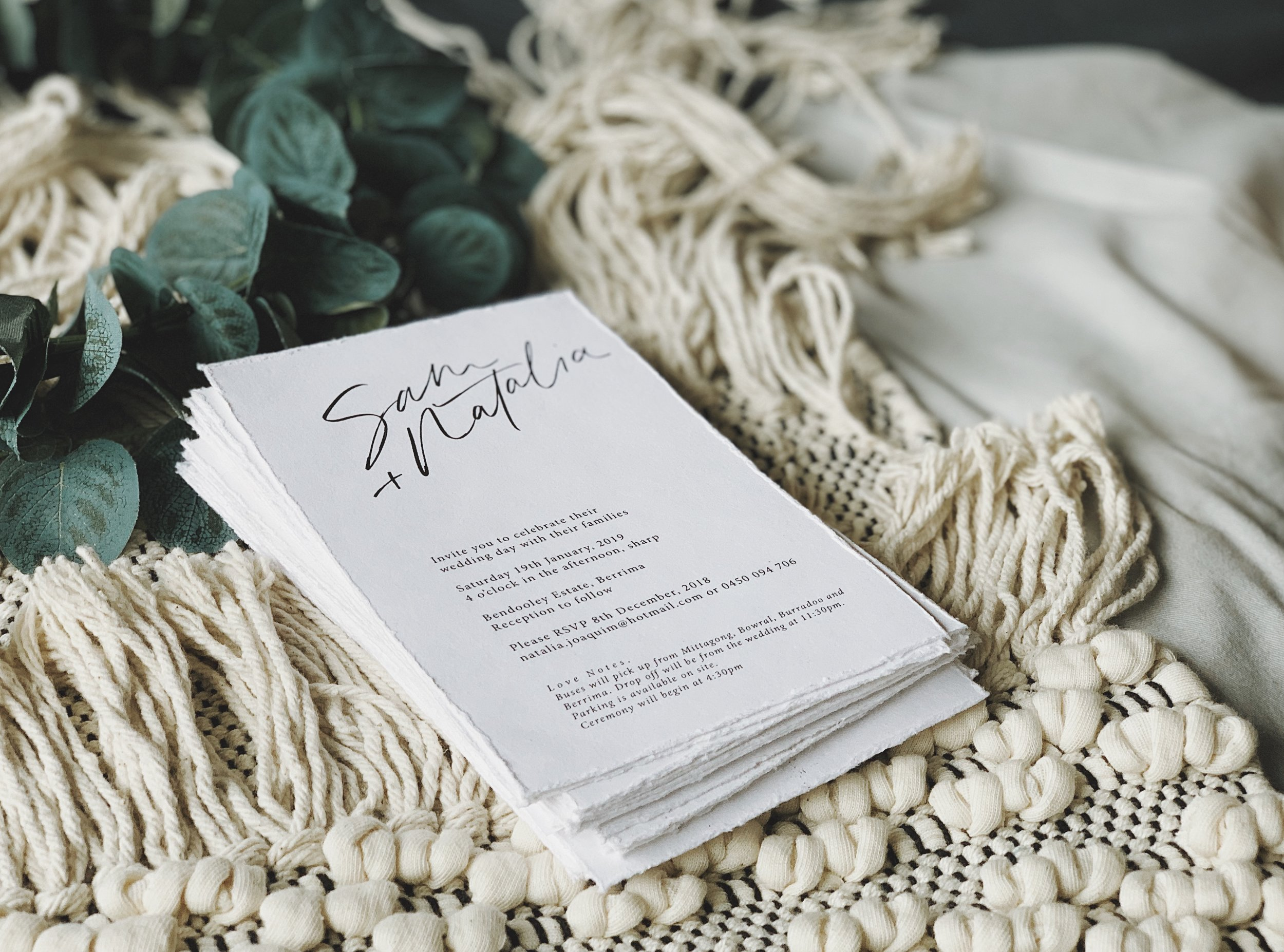 WEDDING & EVENT STATIONERY. - From invitation suites and event signs to place cards, menus and more, The Marker has you covered for all your special occasion stationery needs. Each item is created uniquely to each client and event. Enquire today for your bespoke stationery!