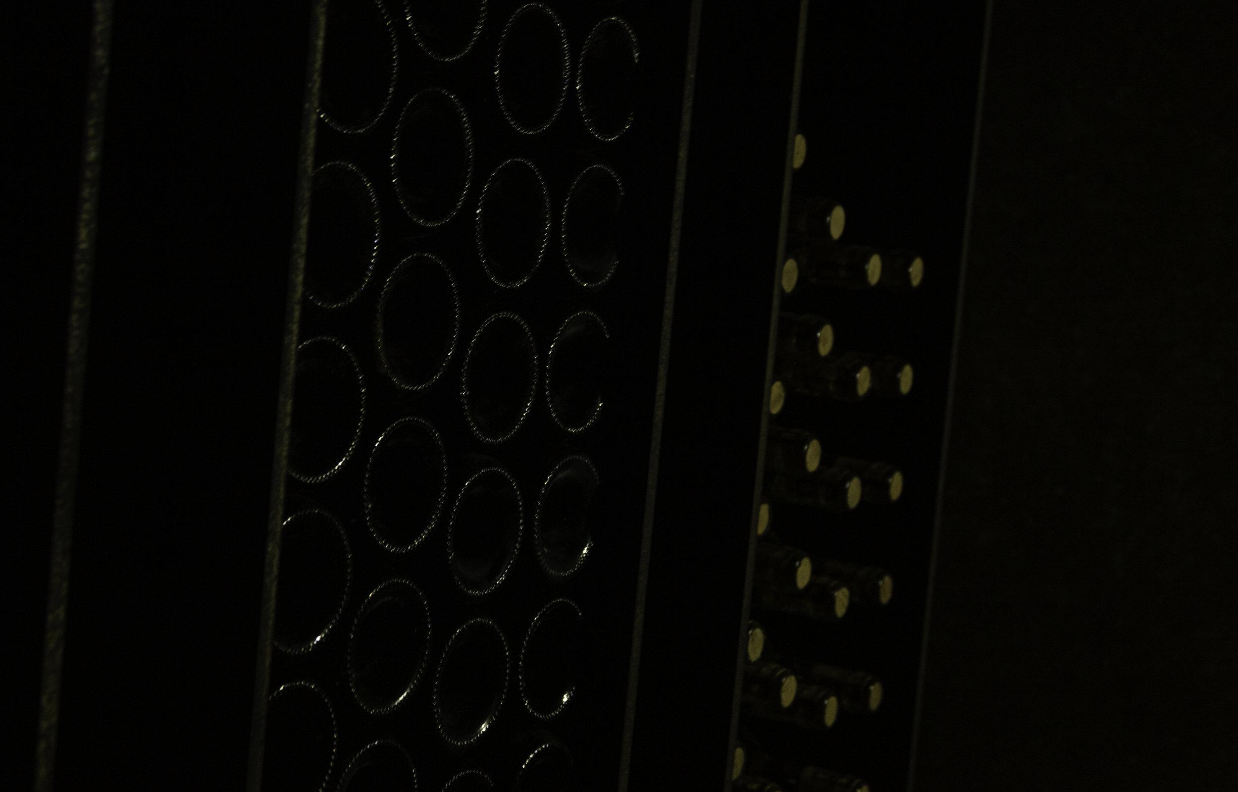 Wines in storage