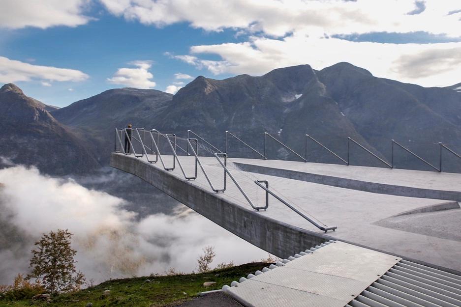 Utsikten, Nasjonal turistveg Gaularfjellet. © Per Ritzler / Statens vegvesen