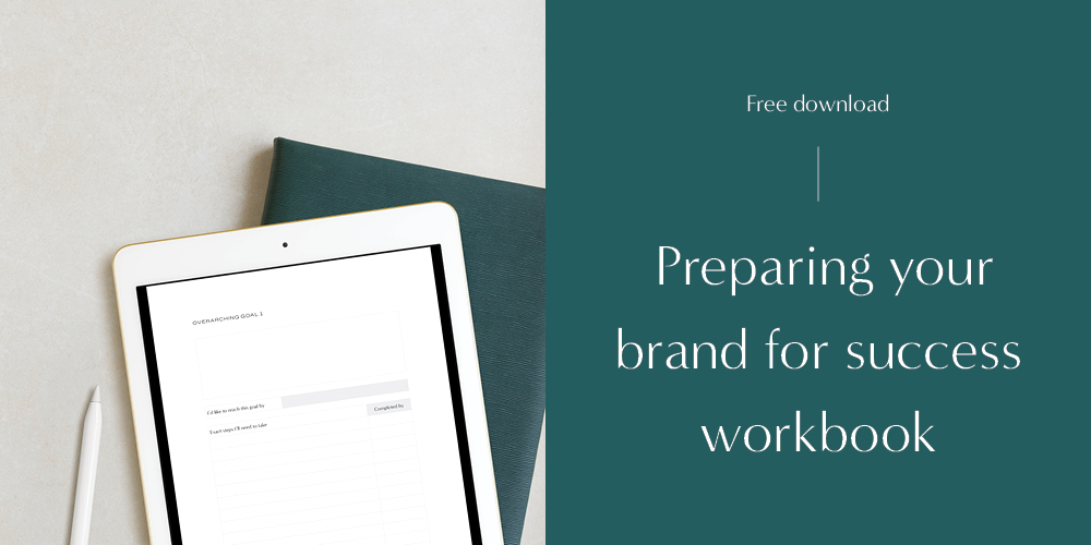 It's not too late! Download your free workshop to prepare your brand for a successful Q2 (or 3 or 4!).
