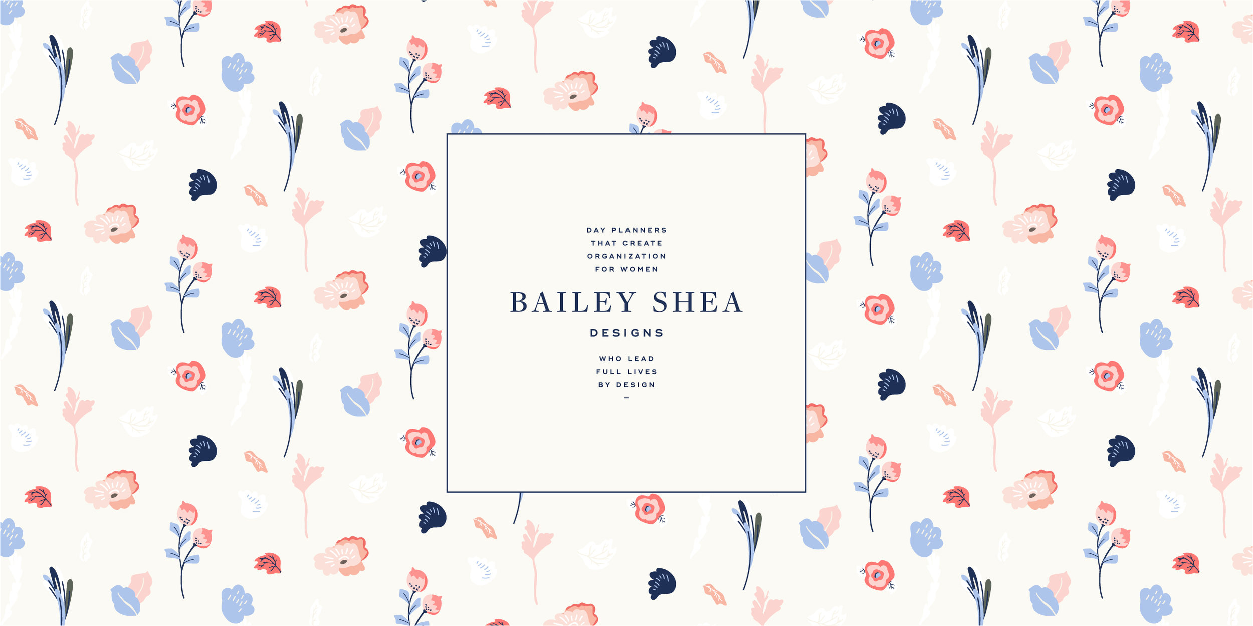 Brand design and development, strategy and packaging design for Bailey Shea Designs