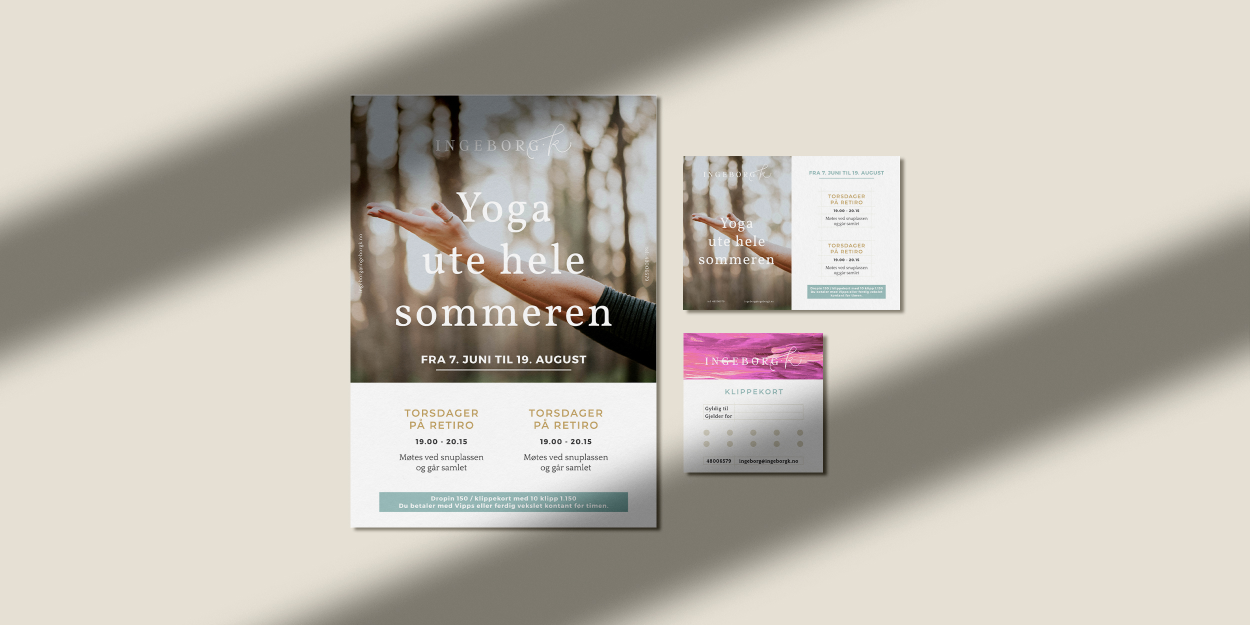 Brand design for Ingeborg K