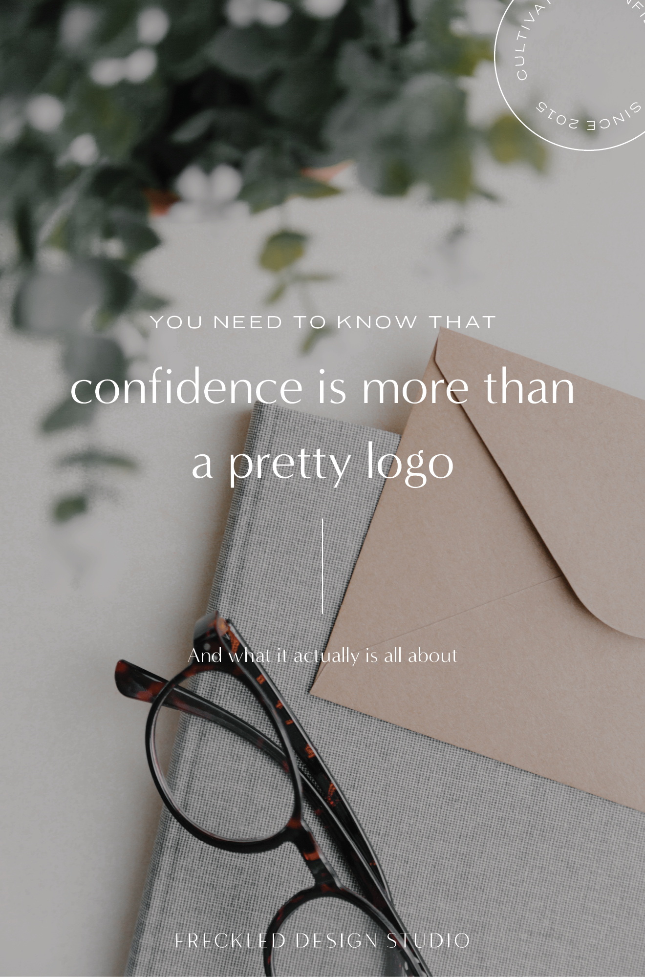 What's more important than your logo?  Confidence 🙌  I stand behind this wholeheartedly. Click through to find out  why.