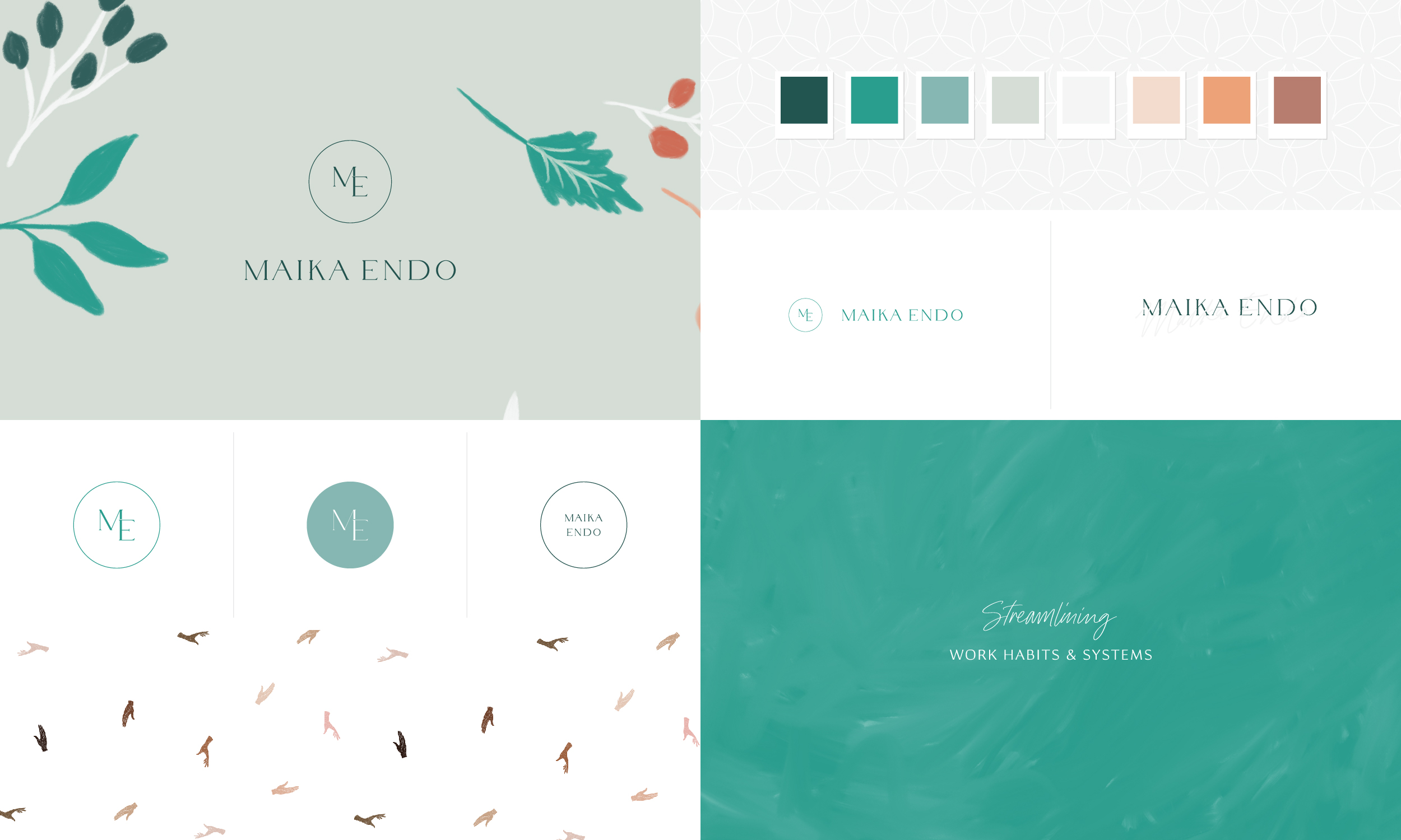 Maika Endo branding and strategy by Freckled Design Studio