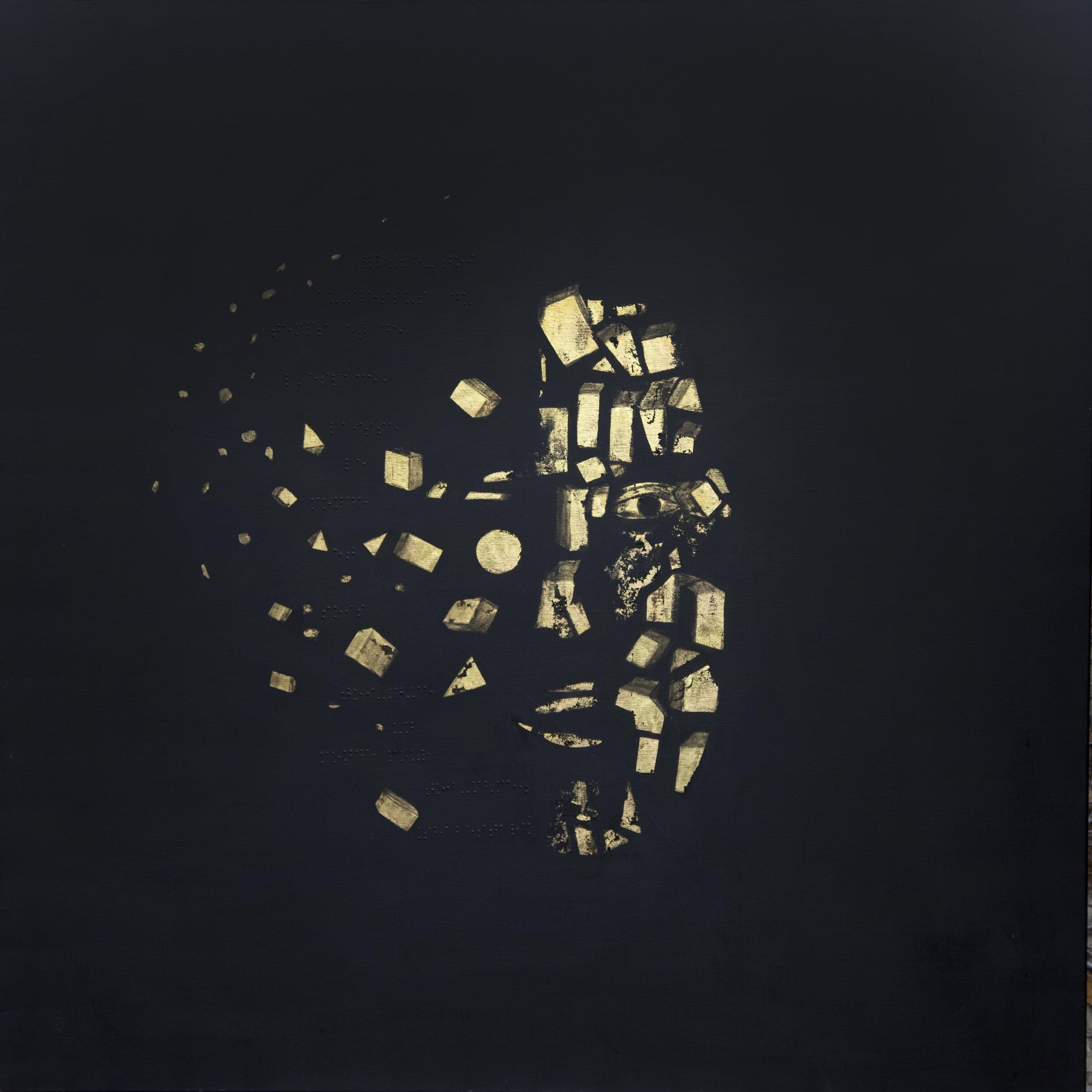 Disparition/Apparition - « Elève- toi au- dessus du temps et de l'espace,laisse le monde et sois toi-même un mondepour toi-même. » Mahmûd Shabestarî.