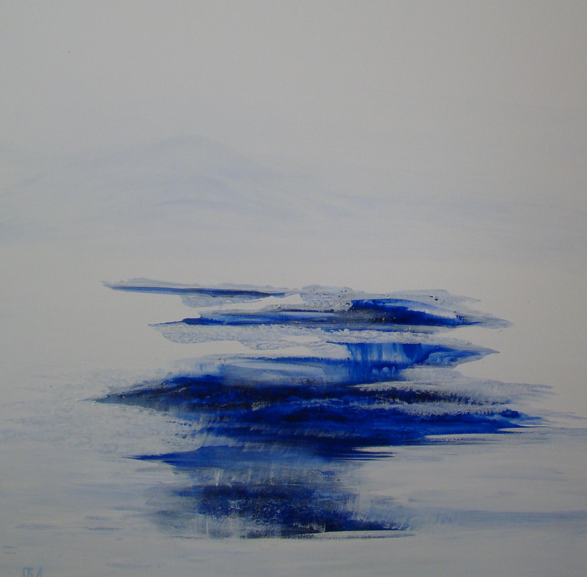 Le Bleu dans sa matière - Utiliser les pigments secs dans leur origine et laisser venir leur profondeur