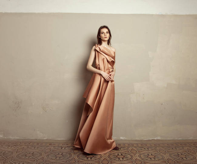 Lara Khoury | Iolanda Fall 2019 | look 23 | Copper Rose Double Satin Gown.jpg