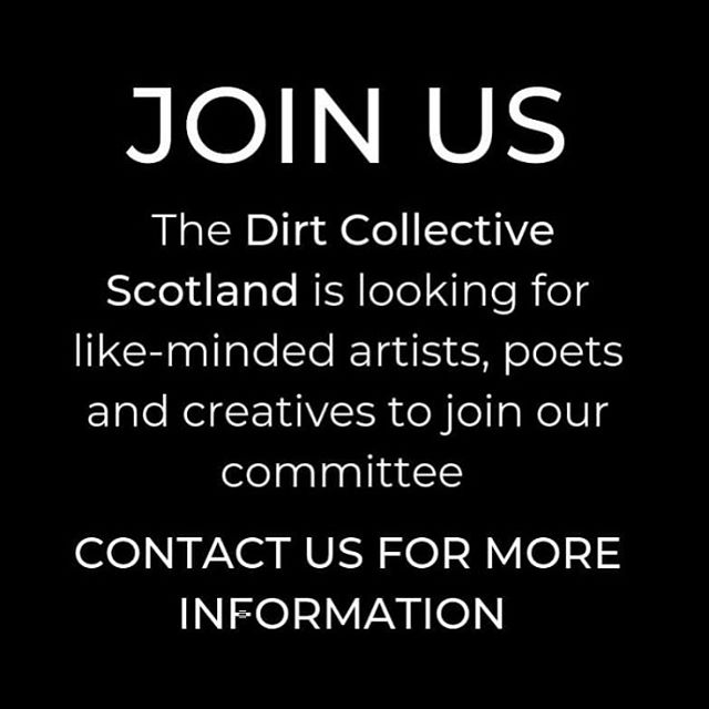 @thedirtcollectivescotland is looking for 4 committee members to help us democratically organise events for all types of creatives in Glasgow! Head over to @thedirtcollectivescotland to check out the full description and how to get in touch!  #poetryglasgow #glasgowdrag #glasgow #glasgowtattoo #glasgowlife #glasgowcity #glasgowschoolofart #glasgowblogger #glasgowvegan #instaglasgow #glasgowwestend #glasgowart