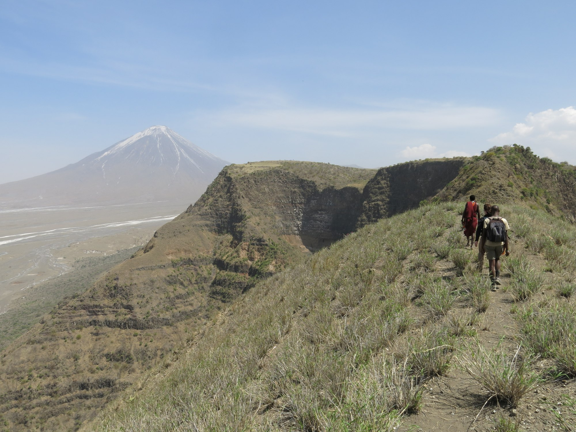 The Great Rift Valley Trek & Walking in the footsteps of man combined - An off the beaten track adventure…Empakai - OlduvaiAn epic week of adventure with 2 nights at Lake Natron Camp.