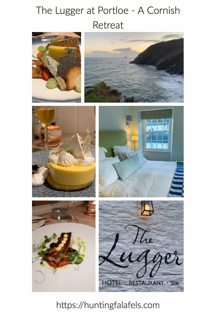 The Lugger Inn at Portloe is a small hotel. With a spa and amazing restaurant it is a perfect retreat for an indulgent weekend.