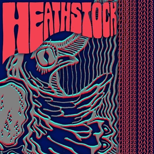 Only 3 days until we play at @heathstock2019 - 13+ and just £4!!!!