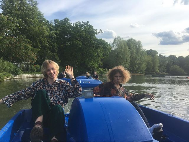 We spent yesterday afternoon riding pedalos in Crystal Palace and getting interviewed - more on that later... ;))))) - - - #synth #synthband #crystalpalace #southlondon #london #londonmusicians #documentary #musicdocumentary #pedalo #50s #60s #70s #80s #vintage #retro #alternative #indie #newromantic #goth #summer #spring #alwaysbrit #F4ÇADE #katebush #depechemode #duranduran #newwave #artwave #jointheglamily