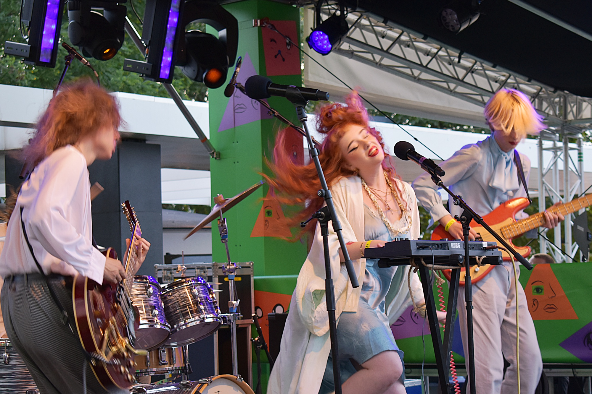 At Nile Rogers' Meltdown Festival - London, Southbank