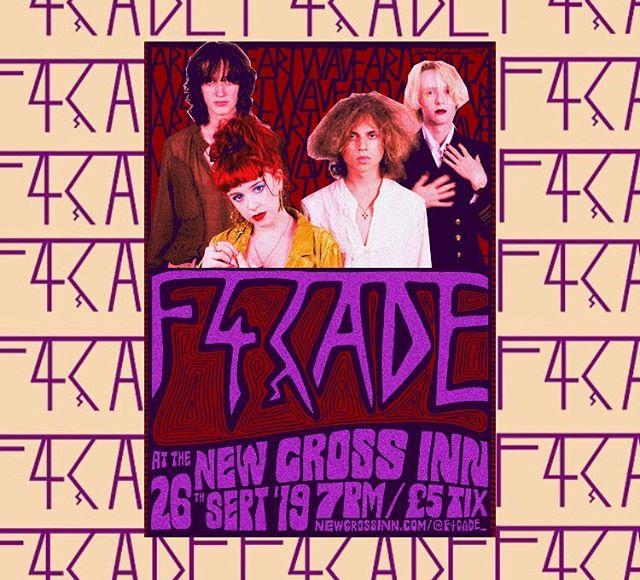 F4ÇADE @ THE NEW CROSS INN 2MORO - FR££ for goldsmiths students or if you have an NUS card -TIX £5 OTD ✨✨ Come for Derm's 19th ♥️♥️ - - - #synth #synthband #londonmusicians #50s #60s #70s #80s #vintage #retro #alternative #indie #goth #newwave #newromantic #music #newmusic #niche #band #indieband #duranduran #depechemode #spandauballet #thebeatles #thesmiths #katebush #velvetunderground #alwaysbrit @thebritschool  @midge_ure @marcalmondofficial @themissionuk @ikea_uk_pr_team #artwave #jointheglamily