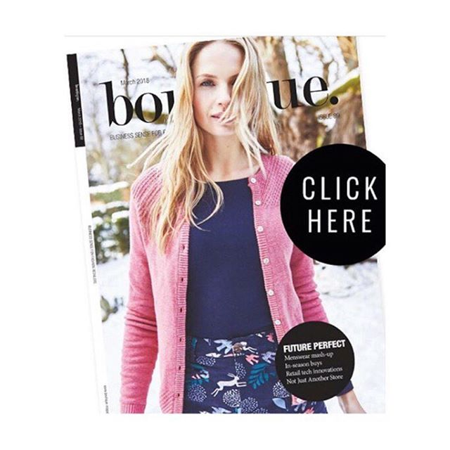 Super chuffed to make the cover again #aw18 for the fabulous  @lilyandmeclothing  #boutiquemagazine #fashionphotography #womenswear #lifestylefashion #realwomen #womensfashion #fashiontradeshow