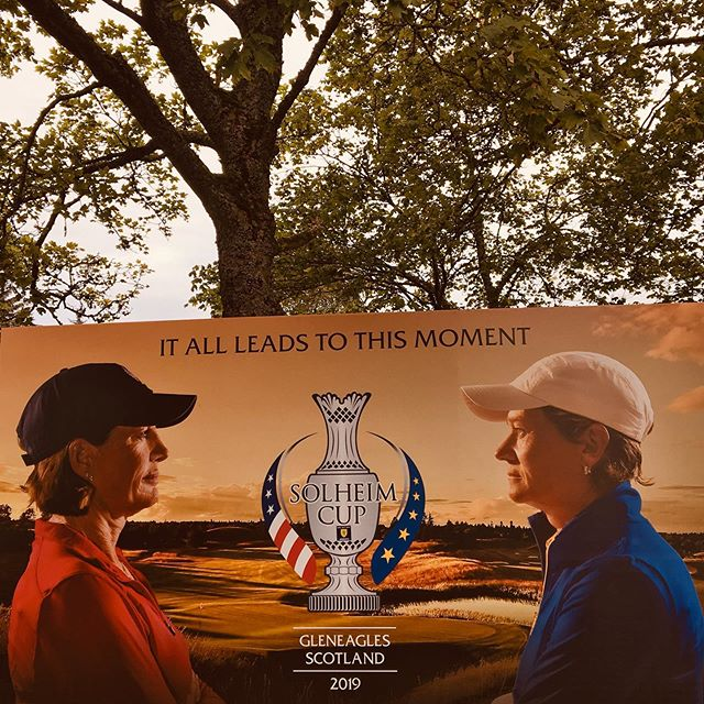 Hugely proud to be part of the 2019 #solheimcup. As Linton & Co. is co-owned by a woman, it is a pleasure to have served the worlds largest Women's Golf event in the beautiful rolling Perthshire hills. Catch us in the main village until the bitter sweet end. Go team Europe!! . . . #womeninsports #womensgolf #europebettertogether #golf #womeninbusiness #scotland #gleneagles #solheimcup2019